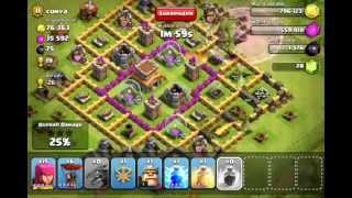 Clash of Clans - Hench Hunters - Attack 6 (3 Star)