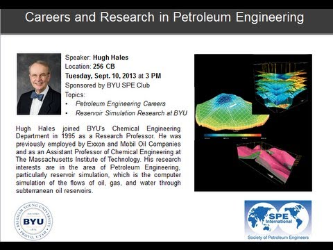 Petroleum Engineering Careers and Reservoir Simulation