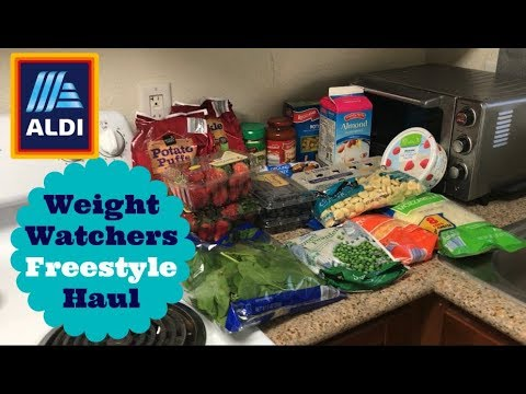 31 aldi grocery haul for weight watchers freestyle with. Black Bedroom Furniture Sets. Home Design Ideas