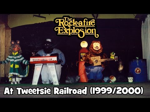 Rock-afire Explosion @ Tweetsie Railroad (1999/2000)
