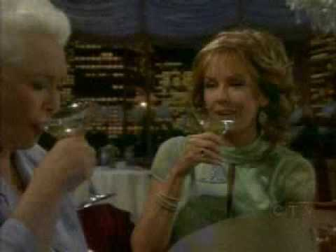 Stephanie Forrester enjoys Martini drink with Jackie Marone