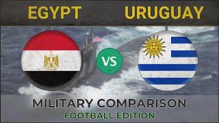 EGYPT vs URUGUAY - Military Comparison - 2018 [FOOTBALL EDITION]