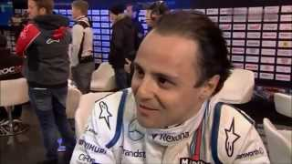 ROC 2015. Nations Cup. Felipe Massa after losing to Jason Plato