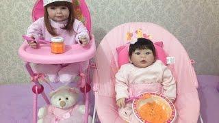 Como fazer papinha para bonecas