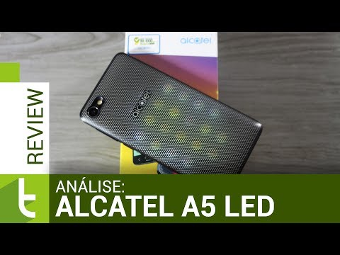 Análise Alcatel A5 LED | Review do TudoCelular