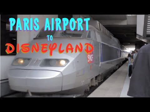 Disneyland Paris TGV Express Trains (from Charles de Gaulle Airport)