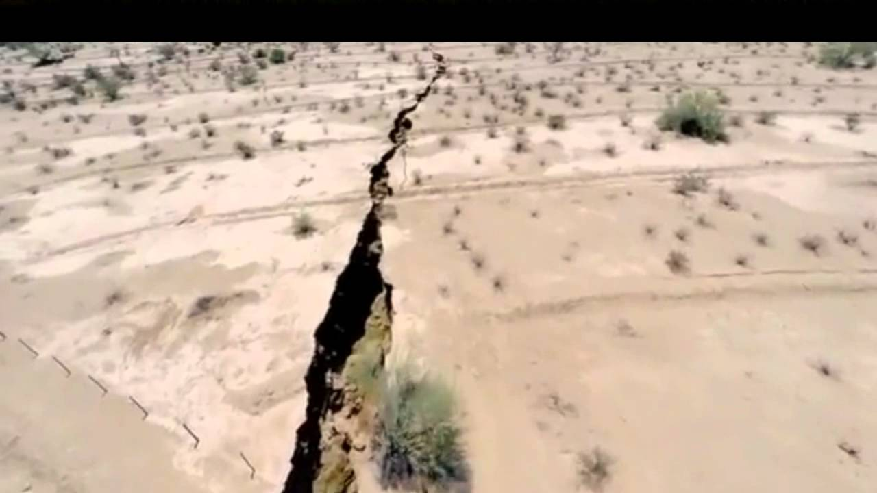 Incredible Giant Crack Appears In Earth In Mexico 17 Km