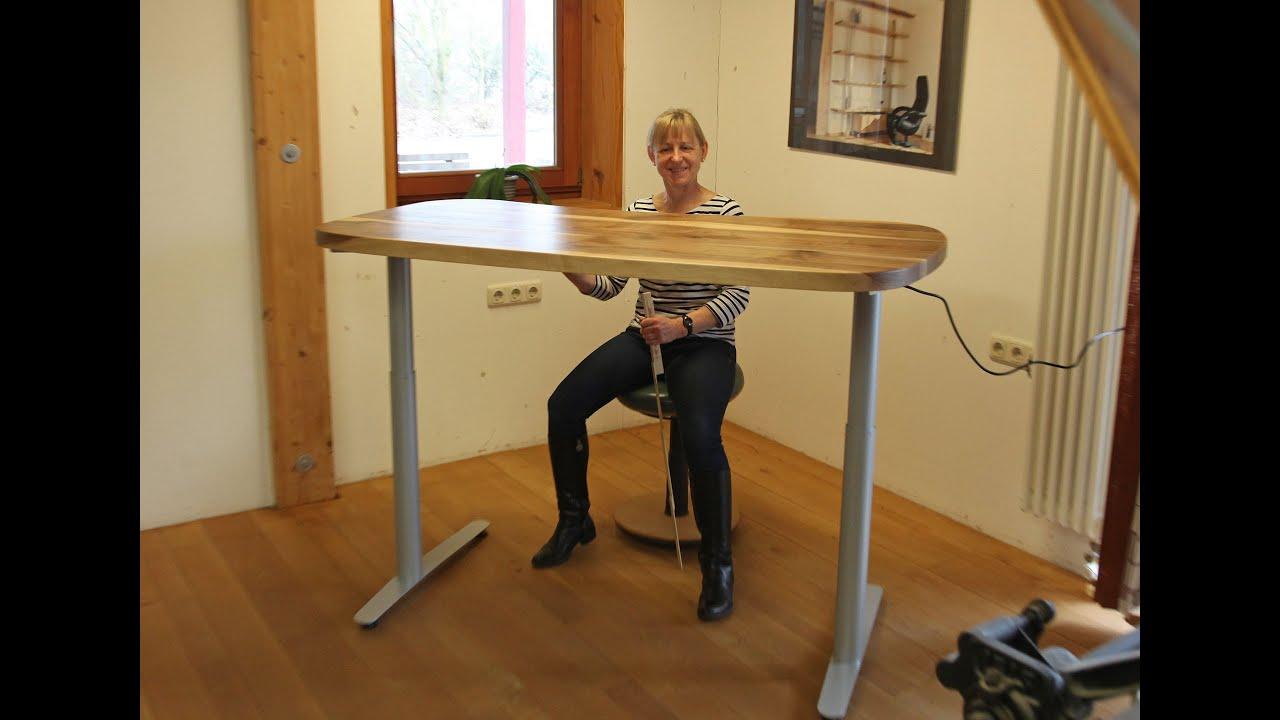 Kinderschreibtisch höhenverstellbar selber bauen  Schreibtisch Verstellbar Elektrisch: Günstige höhenverstellbare ...