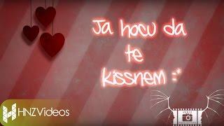 Mr.Black - Ja hocu da te kissnem (Official Lyric Video)