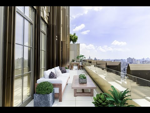 NYC APARTMENT TOUR: Inside a $35 Million Dollar Penthouse, PH1 at Walker Tower.