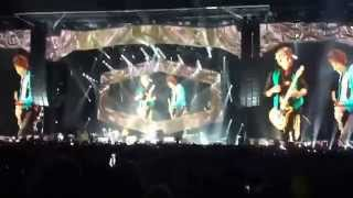 "The Rolling Stones ""Jumpin Jack Flash"" Buffalo, NY 7-11-15 - Full Intro"