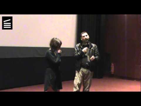 """8AAGFF2014 Intro/Q&A #1 Γιάννης Οικονομίδης-""""Σπιρτόκουτο"""""""