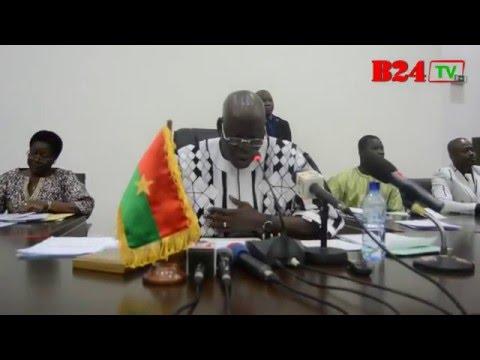 Burkina les membres du bureau de l 39 assembl e nationale for 6 bureaux regionaux de l oms