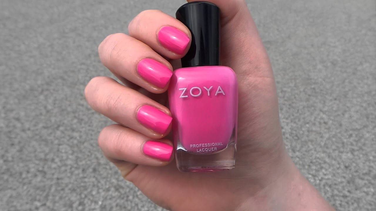 Zoya Nail Polish Rooney From The Summer 2014 Tickled Collection