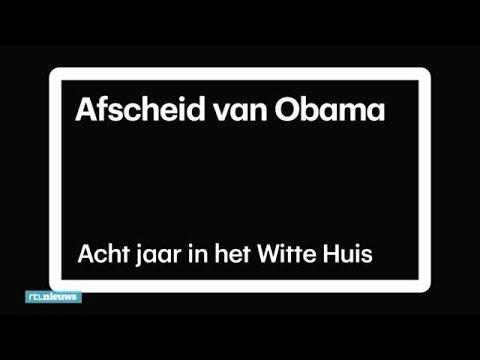 Afscheid van Barack Obama: Acht jaar in het Witte Huis