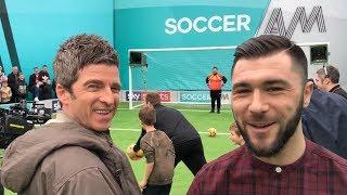 Noel Gallagher & Charlie Austin | Soccer AM Show VLOG