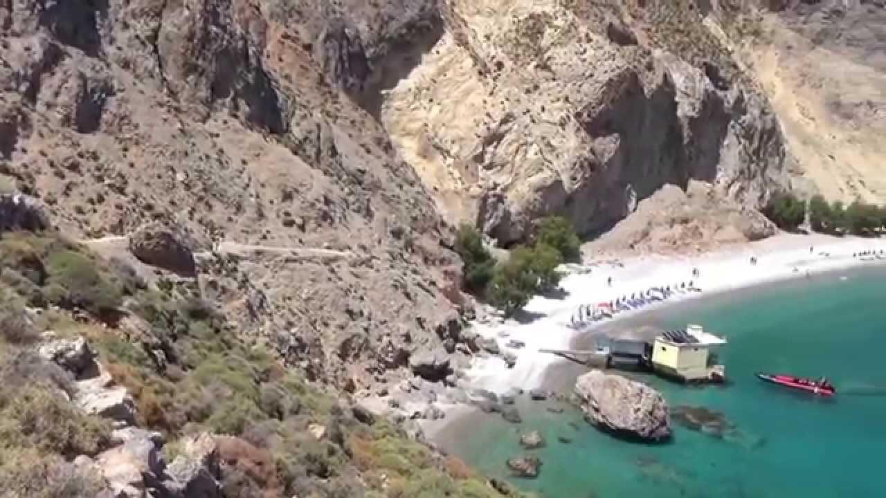 Crete Aradena Gorge -Marmara - Loutro - Chora Sfakion ...