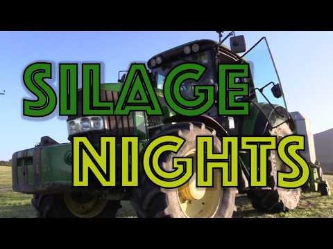 Isle of Man Farming Videos - Silage Nights at Ballacreggan