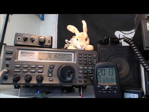 Tuning the Shortwave radio bands live February 3rd 2017