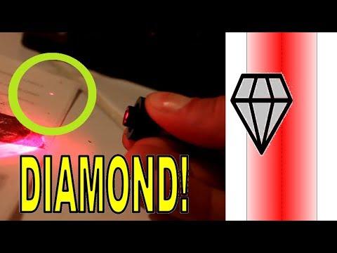 Levitating DIAMONDS with a laser beam!!