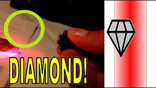 Levitating DIAMONDS with a laser beam!! (demonstration of Nobel Prize in Physics 2018)
