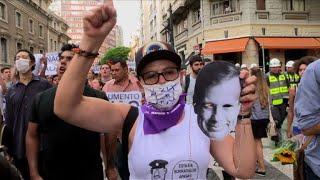 Protesto contra aumento de tarifa em SP