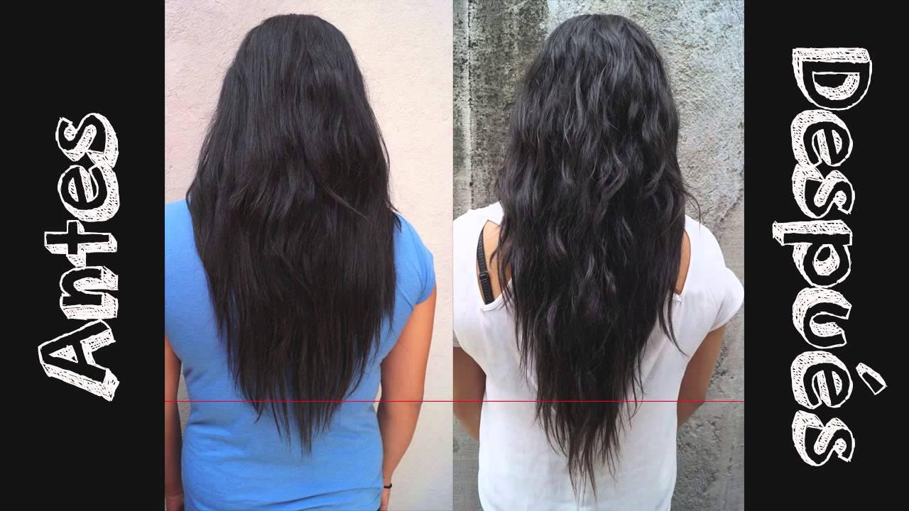 ¡Cómo creció mi cabello 3 cm en una semana! Resultados método inverso , YouTube