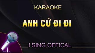Anh Cứ Đi Đi - Hari Won (Karaoke Piano)
