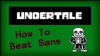 Undertale: How to Bęat Sans