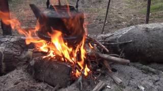 Рыбалка в тайге на хариуса 5 день из 10 дней рыбалка охота тайга лес природа поход выживание в лесу