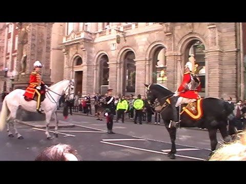 Household Cavalry City of London Freedom Parade - April 2016