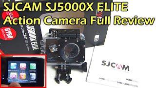 SJCAM SJ5000X ELITE 4K ACTION CAMERA FULL REVIEW