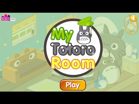 My Totoro Room Fun Online Decorating Games For Girls Kids