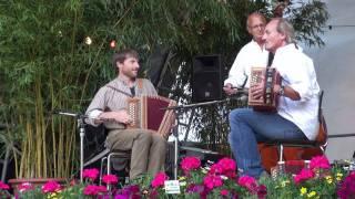 Counousse mit Hardy Mischler und Bruno Raemy am ersten August 2011 in Thun