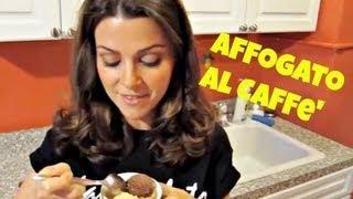 Affogato Al Caffe' (ice Cream Drowned In Coffee)