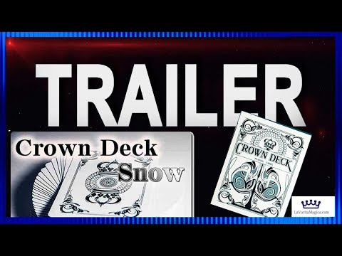 Baraja Crown Snow Edición Limitada video