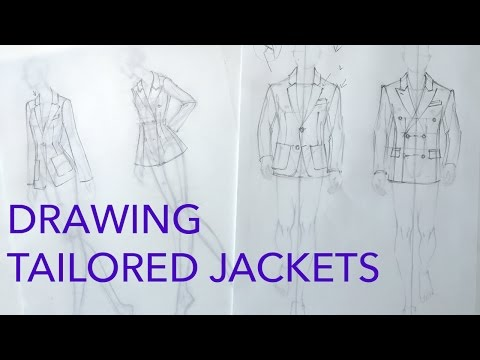 Drawing Clothes 4: Tailored Jackets