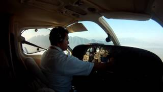 Cessna 421 Solo Flight from MMAN to MMIO