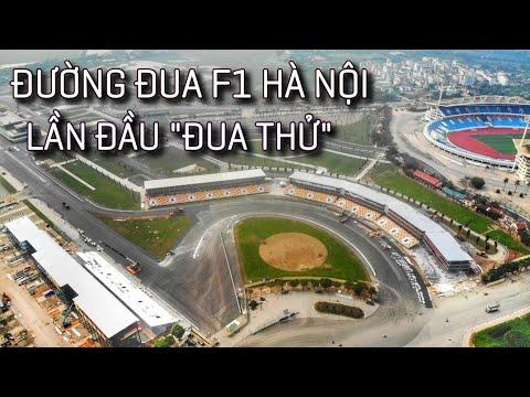 """Lần đầu """"ĐUA THỬ"""" Tại Đường đua F1 Hà Nội   Một Vòng Quanh Trường đua F1 Mỹ Đình"""