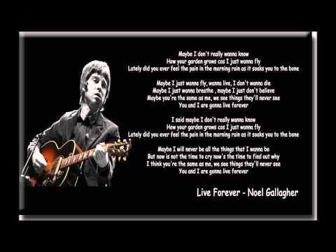 Download lagu Noel Gallagher Live Forever (acoustic) Mp3 terbaik