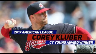 Congratulations to 2017 A.L. Cy Young Award Winner Corey Kluber