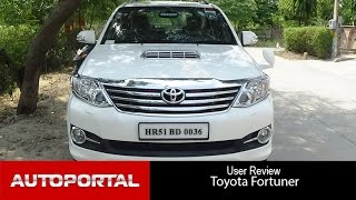 Toyota Fortuner User Review - 'powerfull car' - Autoportal