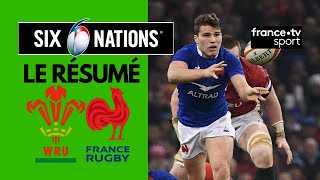 6 Nations 2020 : La France s'impose à Cardiff - Résumé Complet