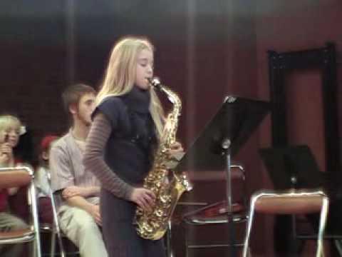 Saxophone Tifenn 12 ans Kyoto 2008 11 22