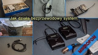 Bezprzewodowy mikrofon test. Sennheiser EW 112P G4