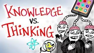 Knowledge vs Thinking - Neil deGrasse Tyson