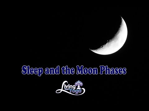 Trouble sleeping during a Full Moon?