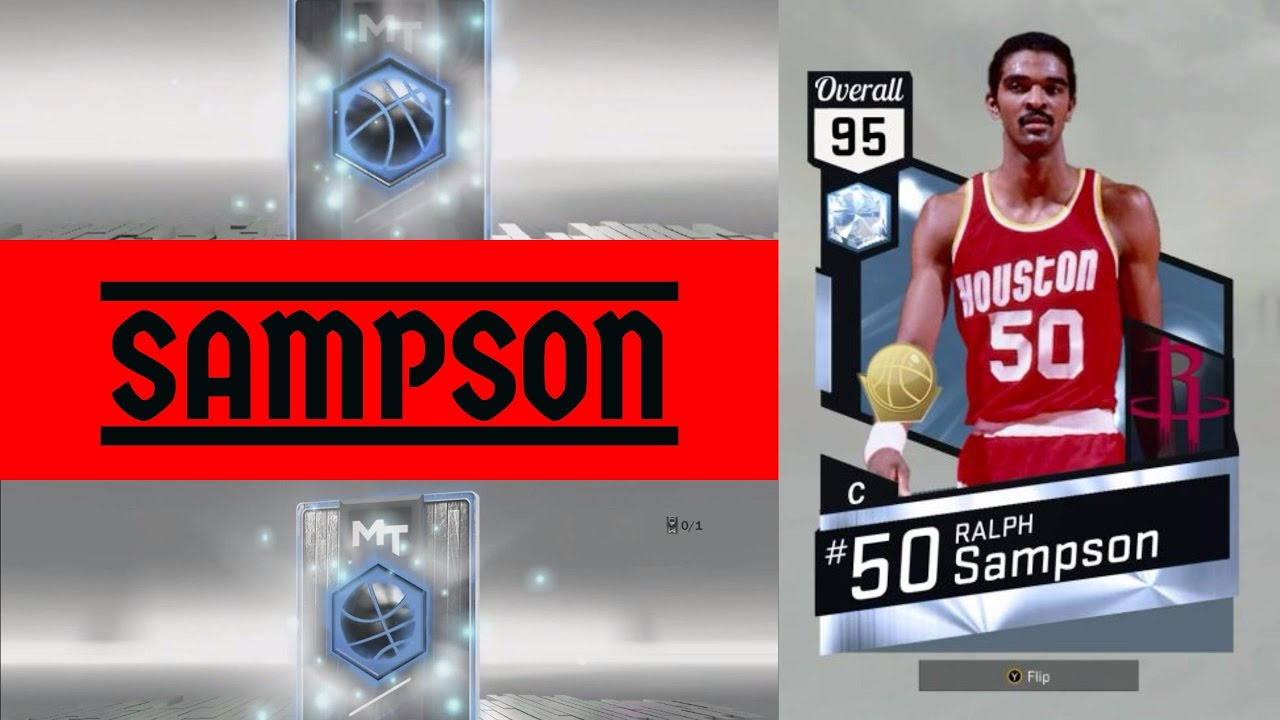 DIAMOND RALPH SAMPSON MONSTER WITH A 3 BALL