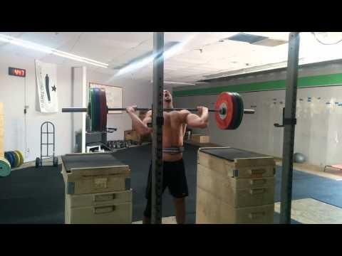 Willie McLendon 136kg Jerk