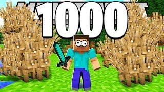 HILARIOUS 5000 RABBIT PRANK IN MINECRAFT MODDED OVERPOWERED MONSTERS INDUSTRIES! | JeromeASF